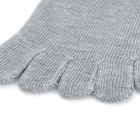 Men's Outdoor Sports Cotton Socks - Grey (Pair)