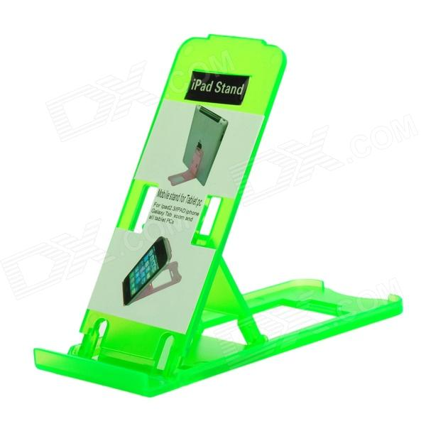 Super Light Plastic Stand for Iphone 5 / Ipad / More - Green