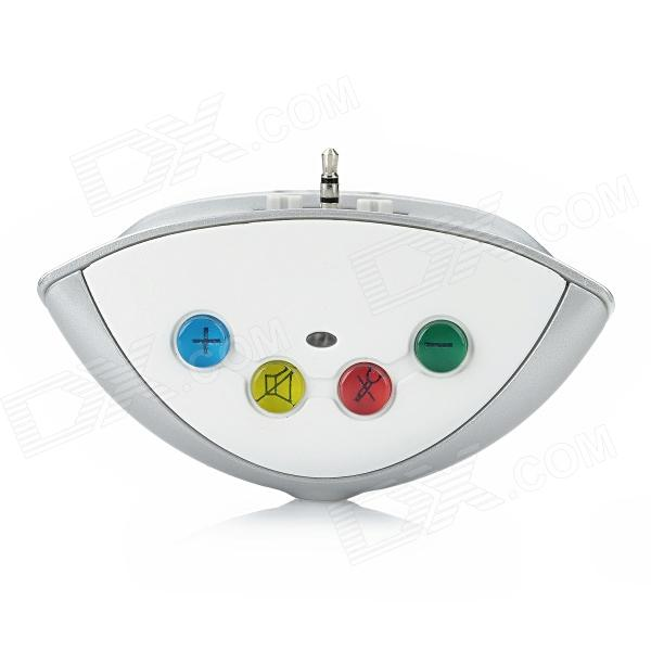 Game Console Wireless Bluetooth Audio Transmitter for XBox 360 - White + Grey