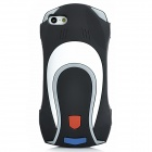 Car Style Protective Soft Silicone Case for Iphone 5 - Black