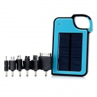 LX-JP14 1450mAh 0.6W Solar Powered Charger - Blue