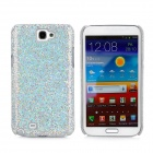 Protective Sequin Plastic Back Case for Samsung N7100 - Silver