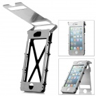 360 Grad-Wende-Cover Protective 304 Stainless Steel Case für iPhone 5 - Silver