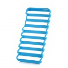 Ladder Style Protective PC Plastic Case for Iphone 5 - Skyblue