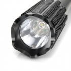 BANYOU BANYOU-801 350lm 3-Mode White Flashlight w/ Cree XP-E Q5 - Black (1 x 18650 / 3 x AAA)