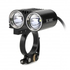 FEREI BL800C 2 x Cree XP-G R5 680lm 3-Mode White Bicycle Light - Black (4 x 18650)