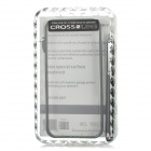 Protective Aluminum Alloy Bumper Frame Case w/ Stylus / Screwdriver for Iphone 5 - Black