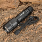 SmallSun ZY-T29 Cree XM-L T6 900lm 5-Mode White Flashlight - Black (1 x 18650)
