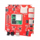 SAA-250 Android 4.0 DIY Intelligent TV Box / Advertising / Development Motherboard - Red