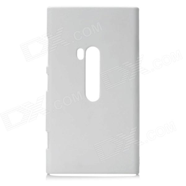 Protective Plastic Back Case for Nokia Lumia 920 - White nillkin protective plastic back case w screen protector for nokia lumia 630 white