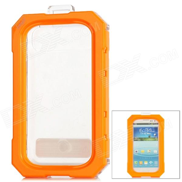 i5005 Protective Waterproof Plastic + Silicone Case for Iphone 5 - Orange