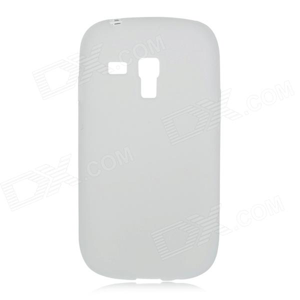 Protective PVC Back Case for Samsung I9300 Mini / I8190 - Transparent