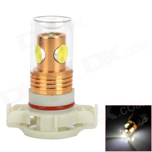 CL20121205-1 H16 9.5W 4-LED 800lm 6500K White Light Car Foglight Bulb - (DC 12~24V) car decorative 50lm 6500k white light emergency strobe flash light w built in ic dc12v