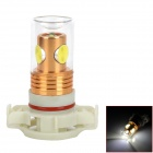 CL20121205-1 H16 9.5W 4-LED 800lm 6500K White Light Car Foglight Bulb - (DC 12 ~ 24V)