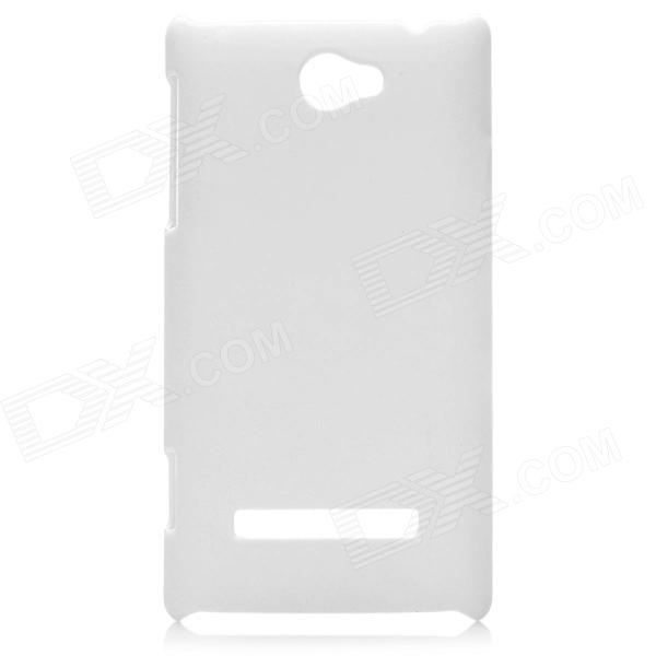 Protective PC Back Case for HTC 8S - White