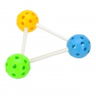 Intelligence Training 3D Inter-connection Ball Toy Set - Yellow + Red + Blue + Green + White