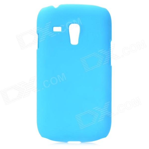 Protective PC Back Case for Samsung Galaxy S3 Mini i8190 - Light Blue