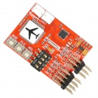 JCX-M6 Digital Flight Controller for RC Airplane RC Model Plane FPV Fixed-Wing Airplane - Red