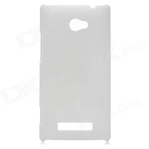 Protective PC Back Case for HTC 8X - White