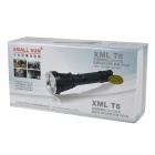 SmallSun ZY-T21 Cree XM-L T6 950lm 5-Mode White Flashlight - Black (1 x 18650)
