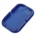 Car Universal Anti-Slip PVC Mat Pad for Cell Phone / GPS / MP4 - Blue