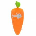 2543 Carrot Shaped PP Cotton Plush Throw Pillow - Orange (40cm-Length)