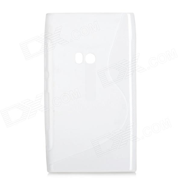 S Style Protective TPU Back Case for Nokia Lumia 920 - White s style protective soft tpu back case for nokia lumia 928 translucent grey