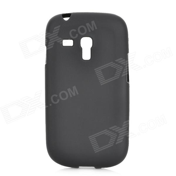 Protective Soft TPU Back Case for Samsung Galaxy S3 Mini i8190 - Black replacement 3 7v 3500mah battery pack back case for samsung i8190 galaxy s3 mini black white