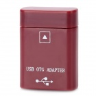 USB OTG Adapter for ASUS Eee Pad TF300 / TF301 / TF201 / TF101 + More - Purplish Red