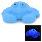3069 Cute Children Bathing Funny LED Flashing Crab Toy - Blue ( 2 x LR626)