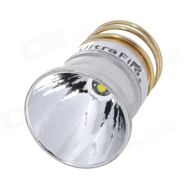 UltraFire 340lm 5-Mode White Aluminum Textured Reflector Drop-In Module w/ CREE XP-G R5 - Silver