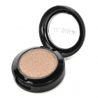 Portable Cosmetic Makeup 1-Color Shining Eye Shadow - Coffee