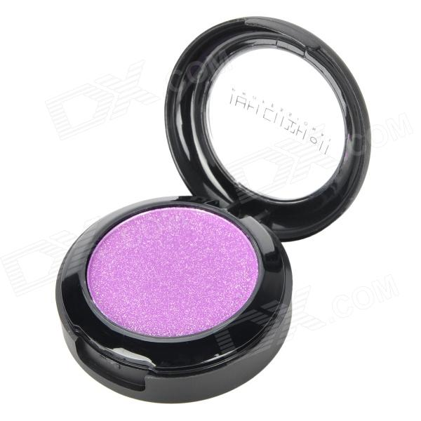 Portable Cosmetic Makeup 1-Color Shining Eye Shadow - Purple