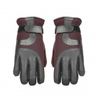 Anti-Skid Full Finger Winter Warmer Motorcycle Racing Gloves for Men - (Size-XL / Pair)
