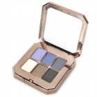 Cosmetic Makeup Pearl Powder 6-in-1 Eye Shadow Palette - Multi-Color