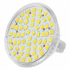 MR16 3W 3000K 225lm 48-SMD 3528 LED warmes weißes Licht-Dekoration-Lampe (12V)