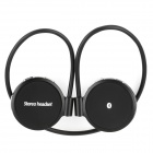X-0031 Rechargeable Sport Hands-Free Bluetooth V2.1 Stereo Handset Headphones - Black