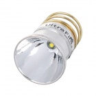 UltraFire CREE XP-G R5 340lm 3-Mode White Aluminum Textured Reflector - Silver