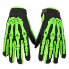 PRO-BIKER Skeleton Anti-Skid Breathable Motorcycle Racing Gloves - Green (Size XL / Pair)