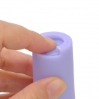 Plastic Coin Carrying Case w/ Keyring - Lavender