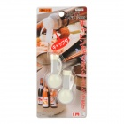 Home Kitchen ABS Seasoning Bottle Cork Stopper - White (2 PCS)