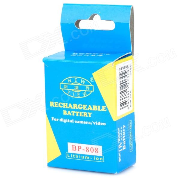 new view bp 808 replacement  quot 890mah quot  rechargeable li ion Canon Camera Manuals Canon T2i Manual