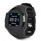 PG88 GSM GPRS GPS Tracking Tracing Wrist Watch - Black