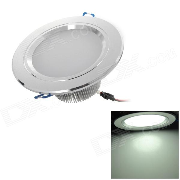 GZY-FY-AC002 7W 7-LED White Light Ceiling Lamp w/ LED Driver - White (110~240V)