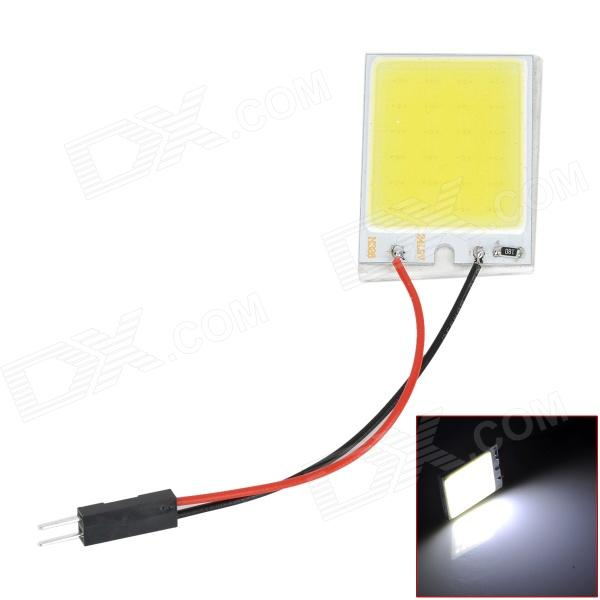 LY204 T10 + BA9S + Festoon 3W 6000K 180lm 1-SMD LED White Light Reading Lamp / Room Lamp (DC 12V)