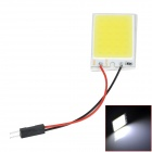 T10 + BA9S + Festoon 3W 6000K 180lm 1-SMD LED White Light Reading Lamp / Room Lamp (DC 12V)