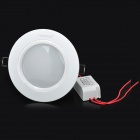 IHD-X07A006W 7W 240V 600lm 6500K White Light LED Ceiling Down Light - Ivory White