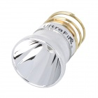UltraFire CREE XR-E R2 250lm 3-Mode White Aluminum Smooth Reflector Drop-In Module - Silver