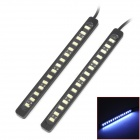 9W 225lm 15-SMD 6040 LED White Car Daytime Running Lights (Paar)