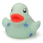 121203 Funny Floating Duck Bath Toy for Baby - Light Green